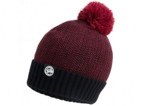 Caciula Fox Chunk Bobble Hats Burgundy
