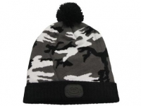 Caciula RidgeMonkey Bobble Hat Camo Black