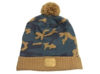 Caciula RidgeMonkey Bobble Hat Camo Brown