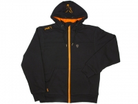 Hanorac Fox Heavy Lined Hoodie Black-Orange