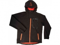 Fox Softshell Jacket Black-Orange