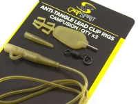 Kit montura anti-tangle Carp Spirit Lead Clip