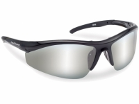 Flying Fisherman Spector Black Smoke Silver Mirror Sunglasses