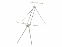 Rod Pod 4 posturi Carp Spirit No Limit Inox 316