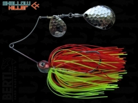 Spinnerbait Berti Shallow Killer 11g Colorado / Red-Chartreuse