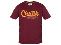 Tricou Fox Chunk T-shirt Burgundy