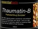 Thaumatin - un aditiv de efect