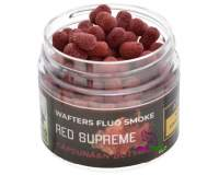 220 Baits Fluo Smoke Wafters 6mm Red Strawberry and N-Butyric