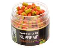220 Baits Supreme 4mm Wafters Yellow and Orange