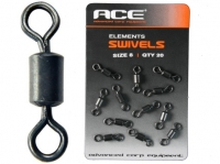 Ace Swivels sz 8