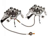 Aragaz RidgeMonkey Quad Connect Stove Full Set