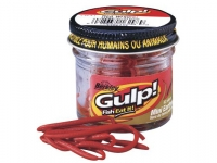 Berkley Gulp Mini Earthworm 2.5cm Red