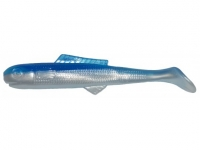 Big Bite Baits Minnow Shad Tail 7.6cm Pearl Blue Back 05