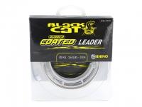 Black Cat Rubber Coated Leader 20m
