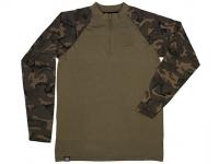 Bluza Fox Chunk Long Sleeve Zipped Top Khaki-Camo