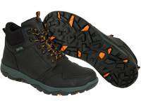 Bocanci Fox Collection Black & Orange Mid Boots