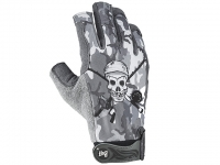 Buff Troothy Grey Gloves