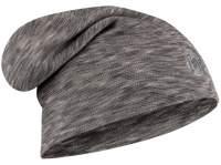 Caciula Buff Merino Wool Heavyweight Loose Fog Grey Multi Stripes