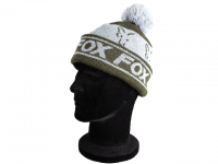 Fox Green and Silver Lined Bobble