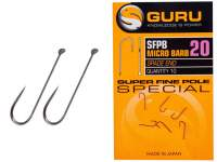Carlige Guru SFPB Super Fine Pole Barbed Hooks