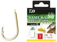 Carlige legate Daiwa Samurai Sweet Corn Hooks