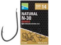 Carlige Preston Natural N-30 Hooks