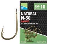 Carlige Preston Natural N-50 Hooks