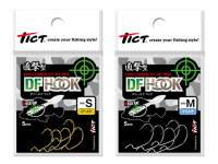 Tict DF Direct Finnese Offset Silver Hooks