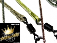 Carpspot Mussel-King Spliced Leaders 120cm x 2