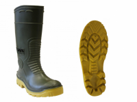 Cizme Vass E-Boot Khaki/Yellow