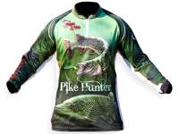 Crazy Fish Pike Hunter Camo T-Shirt