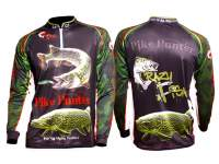 Crazy Fish Pike Hunter Jersey Black