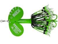 D.A.M. Madcat A-Static Rattlin Teaser Spinner 75g Green
