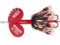 D.A.M. Madcat A-Static Rattlin Teaser Spinner 75g Red