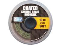 Fir Asso Coated Soft Sinking Braid Hooklink 10m