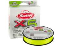 Fir Berkley X5 Braid Flame Green 300m