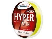 Fir monofilament Climax Hyper Spinning 150m Fluo Yellow
