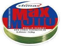 Fir monofilament Climax Max Mono 100m Oliv