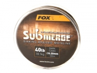 Fir Fox Submerge Dark Camo Sinking Braid 600m