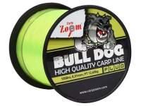 Fir monofilament Carp Zoom Bull-Dog 1000m Fluo Green