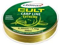 Fir monofilament Climax Cult Carp Extreme 300m Mat Yellow