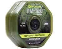 Fir RidgeMonkey RM-Tec Soft Braid Hooklink Weed Green