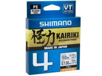 Fir Shimano Kairiki SX4 PE Braided Line 150m Hi Vis Orange