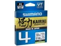Fir Shimano Kairiki SX4 PE Braided Line 150m Mantis Green
