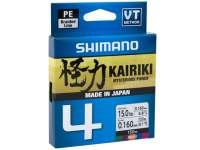 Fir Shimano Kairiki SX4 PE Braided Line 150m Multicolor