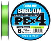 Fir Sunline Siglon PE X4 Light Green 150m