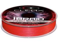 Fir textil Climax iBraid Fluo Red 135m