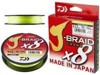 Fir textil Daiwa J-Braid Grand X8 135m Chartreuse
