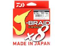 Fir textil Daiwa J-Braid Grand X8 135m Light Grey