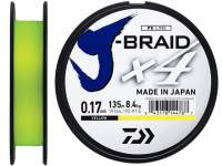 Fir textil Daiwa J-Braid X4 Yellow